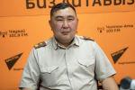 ӨКМдин Чүй облусу боюнча башкармалыгынын башчысы Азис Эгембердиев