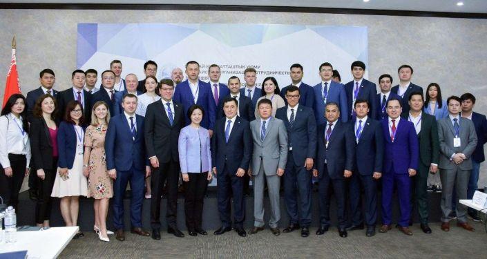 Заседание молодежного совета ШОС в Бишкеке