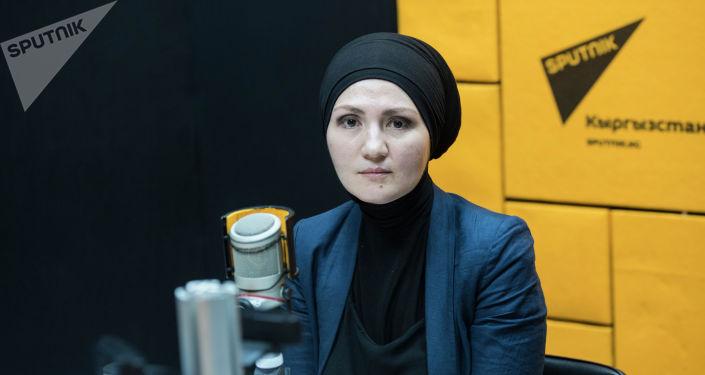 Координатор проектов Международной организации труда в Кыргызстане Амина Курбанова