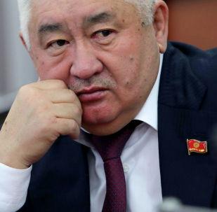 Жогорку Кеңештин депутаты Зарылбек Рысалиевдин архивдик сүрөтү