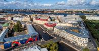 Дома на набережной реки Мойка в Санкт-Петербурге. Архивное фото