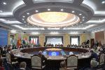 Президент РФ Владимир Путин принимает участие в заседании Совета глав государств - членов Шанхайской организации сотрудничества (ШОС) в расширенном составе в государственной резиденции Ала-Арча в Бишкеке.