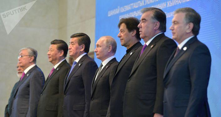 ШКУ уюмуна мүчө өлкөлөрдүн лидерлери