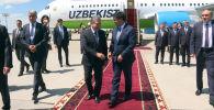 Бишкектеги ШКУ саммитине тогуз президент жана эки премьер-министр келди. Учактан түшкөн сыйлуу конокторду бир видеого топтодук.