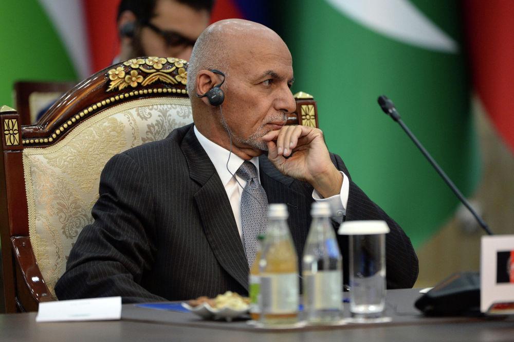 Президент Афганистана Мохаммад Ашраф Гани