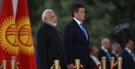 Индия премьер-министри Нарендра Моди жана КР президенти Сооронбай Жээнбеков