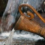Резиденциядагы фонтан