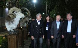 Вечер прошел в поистине дружеской атмосфере, сообщает пресс-служба президента РТ