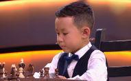 В очередном выпуске детского шоу талантов Лучше всех на российском Первом канале показали выступление шестилетнего шахматиста из Кыргызстана Султая Чынгыза.