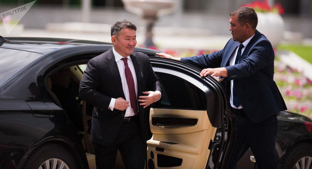 Президент Монголии Халтмаагийн Баттулга