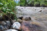 Горная река в Чуйской области