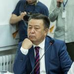Депутат Жогорку Кенеша Чыныбай Турсунбеков