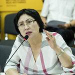 Директор правовой клиники Адилет Чолпон Джакупова