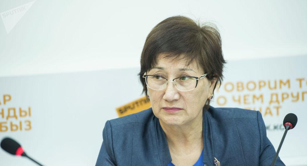 Жогорку соттун төрайымынын орун басары Айнаш Токбаева