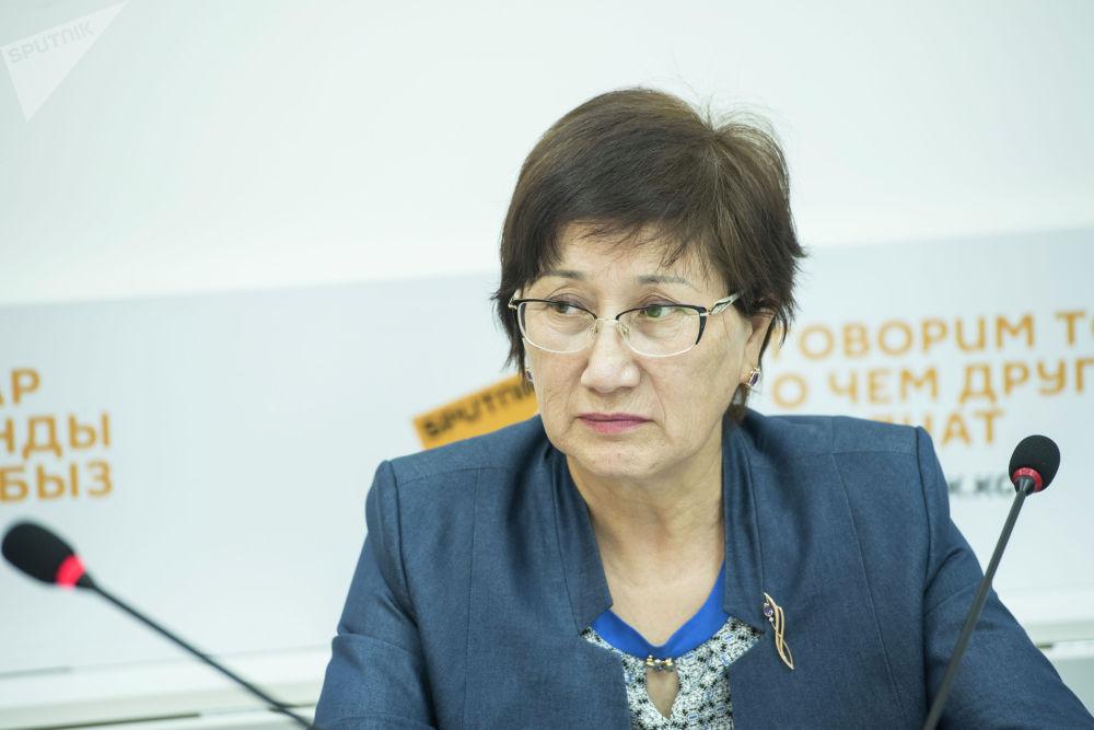 Заместитель председателя Верховного суда Айнаш Токбаева