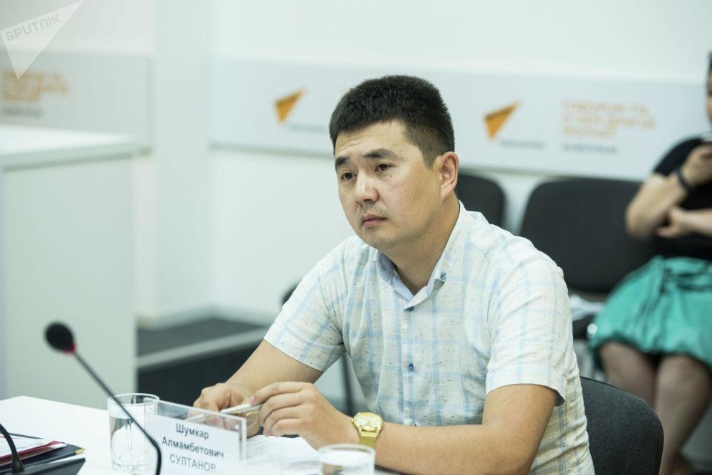 Представитель МВД Шумкар Султанов