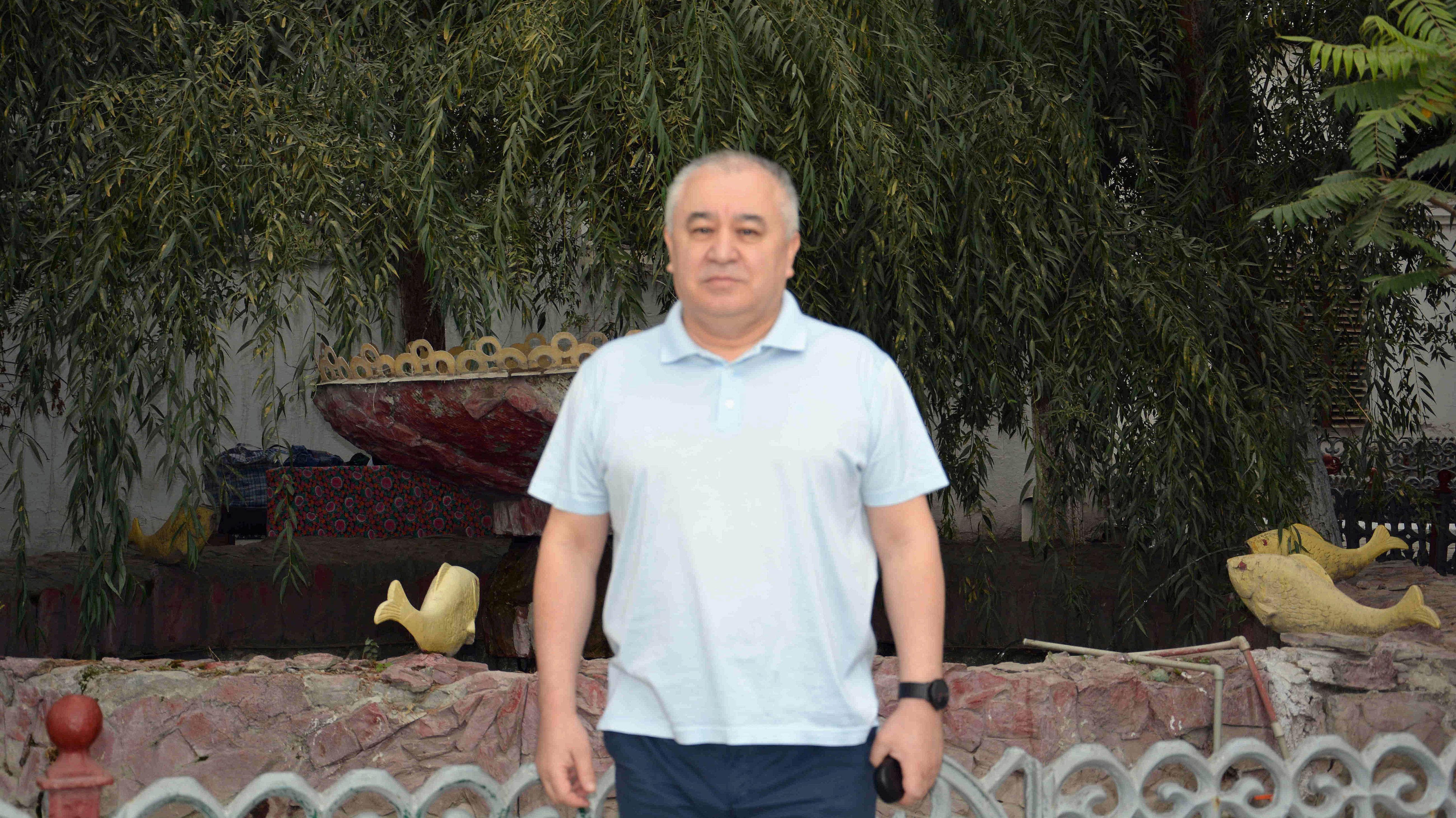 Лидер партии Ата Мекен Омурбек Текебаев, отбывающего уголовное наказание в исправительной колонии № 47