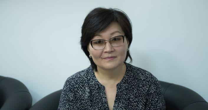 Специалист по связям с общественностью Центра оценки образования и методов обучения (ЦООМО) Чинара Батракеева. Архивное фото