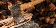Топор для рубки дров. Архивное фото