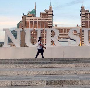 Нур-Султан шаары. Архивдик сүрөт