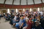 Сторонники экс-президента Алмазбека Атамбаева собрались в селе Кой-Таш