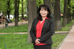 Преподаватель из Бишкека Галина Тян во время беседы на радио Sputnik Кыргызстан