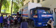 В Джумгальском районе Нарынской области начала работу мобильная медклиника