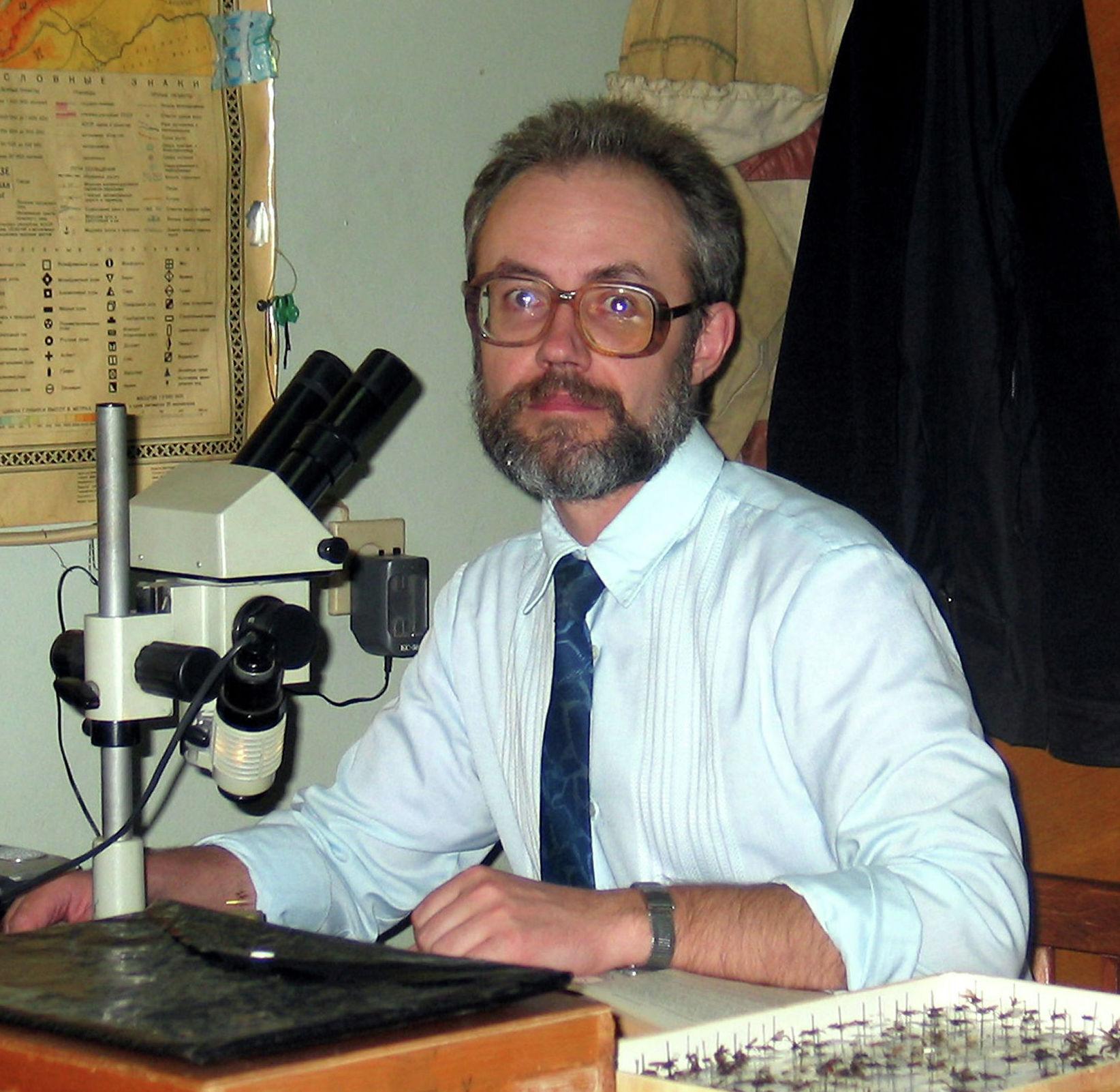 Энтомолог, член Национальной академии наук КР Дмитрий Милько