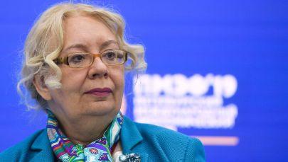 Член Коллегии (министр) по основным направлениям интеграции и макроэкономике Евразийской экономической комиссии Татьяна Валовая. Архивное фото