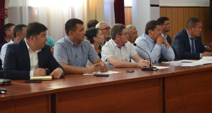 Встреча для создания фонда для развития сел в Иссык-Куле