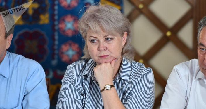 Депутат ЖК Ирина Карамушкина