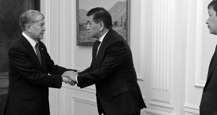 Этот короткий ролик быстро введет вас в курс дела по ситуации с бывшим президентом Кыргызстана Алмазбеком Атамбаевым.