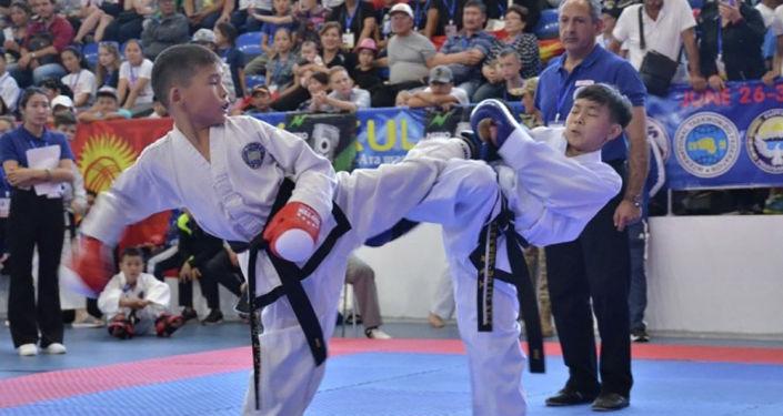 Кыргызстанские спортсмены выиграли 137 медалей на открытом Чемпионате Азии по таэквондо ИТФ в Иссык-Кульской области