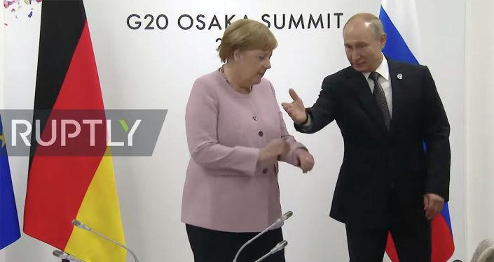 Встреча прошла на полях саммита Большой двадцатки в японской Осаке.