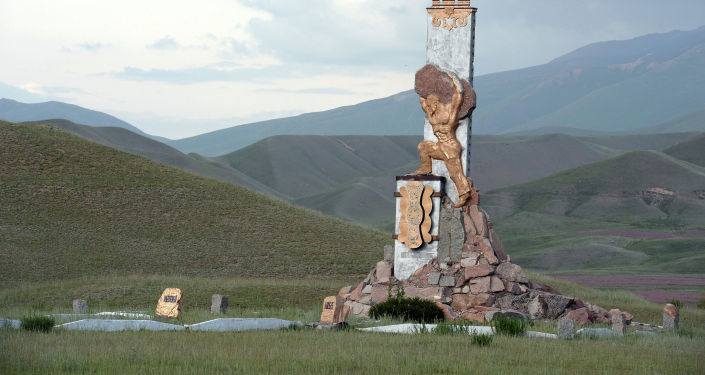 130-летие Каба уулу Кожомкула в Суусамырской долине Жайылского района Чуйской области. 30 июня 2019 года