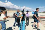 Тамчы айылындагы Ысык-Көл эл аралык аэропорту быйыл алгачкы жолу Алматы — Тамчы — Алматы каттамын кабыл алды
