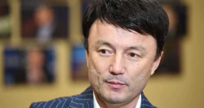 Отец и продюсер казахстанского певца Димаша Кудайбергена Канат Айтбаев. Архивное фото