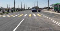 Сегодня, 2 июля, отрезок улицы Жайыл Баатыра открыли для движения автомобильного транспорта