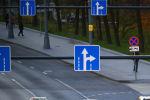 Знаки дорожного движения. Архивное фото