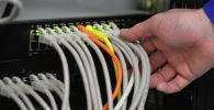 Серверное оборудование. Архивное фото