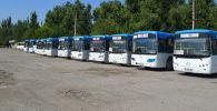 В Бишкеке отремонтировали автобусы, которые подлежали списанию