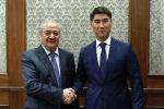 Министр иностранных дел Кыргызской Республики Чингиз Айдарбеков провел встречу с Министром иностранных дел Республики Узбекистан Абдулазизом Камиловым