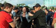 В Алматы и Нур-Султане задержали участников несанкционированных митингов