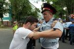 В Алматы и Нур-Султане задержали участников несанкционированных митингов. Архивное фото