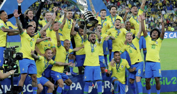 Бразилиянын футбол боюнча курама командасы Америка кубогун жеңип алды.