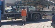 Управление землепользования и строительства мэрии Бишкека продолжает работу по сносу незаконно возведенных объектов