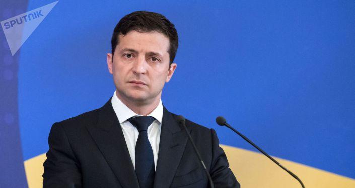 Украинанын президенти Владимир Зеленский. Архивдик сүрөт