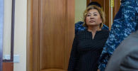 Вице-министр образования Казахстана Эльмира Суханбердиева на судебном заседании