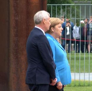 Дрожь проняла политика во время встречи с премьер-министром Финляндии Антти Ринне.