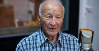Ветеран энергетики Кыргызстана Карыпбек Алымкулов во время беседы на радио Sputnik Кыргызстан